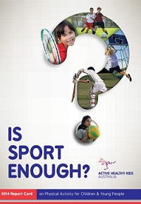 2014 Report Card on Physical Activity for Children and Young People
