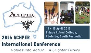 Call for Papers for 29th ACHPER International Conference